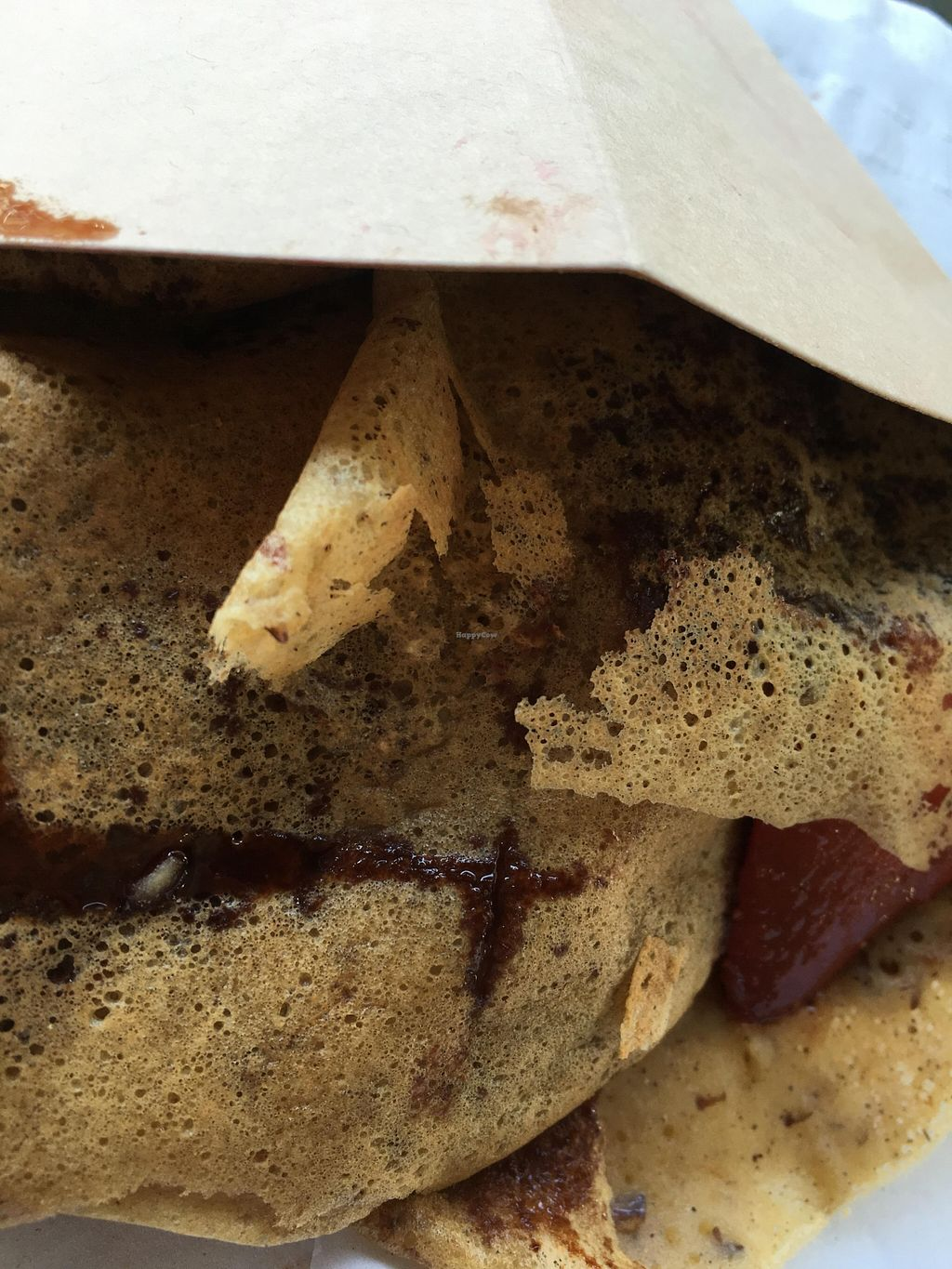 """Photo of The Crepe Cart  by <a href=""""/members/profile/cookiem"""">cookiem</a> <br/>Fruit (strawberries) with organic chocolate syrup- vegan and gluten free <br/> March 31, 2016  - <a href='/contact/abuse/image/71506/142073'>Report</a>"""