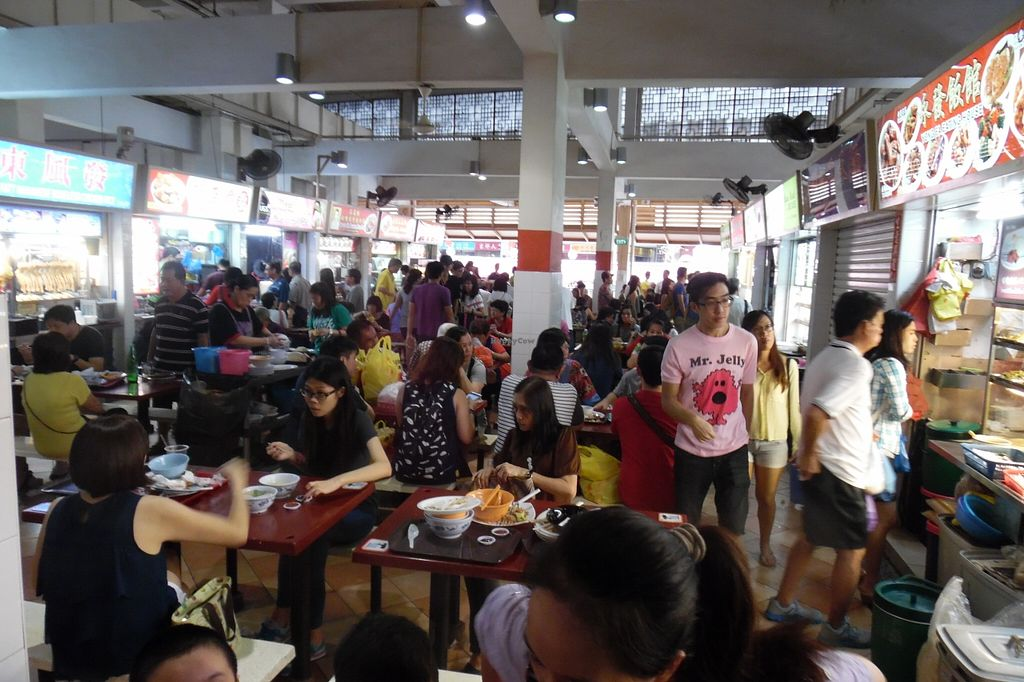 """Photo of Albert Center Food Stall 54  by <a href=""""/members/profile/WP"""">WP</a> <br/>Alber Center Food Court seating area <br/> March 29, 2016  - <a href='/contact/abuse/image/71524/141770'>Report</a>"""