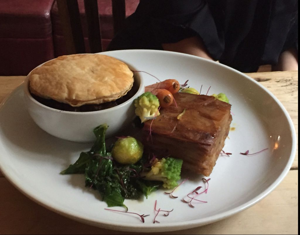 """Photo of Earth and Stars  by <a href=""""/members/profile/VeganD%21"""">VeganD!</a> <br/>Mushroom pie with boulangere potato <br/> February 23, 2017  - <a href='/contact/abuse/image/71529/229748'>Report</a>"""
