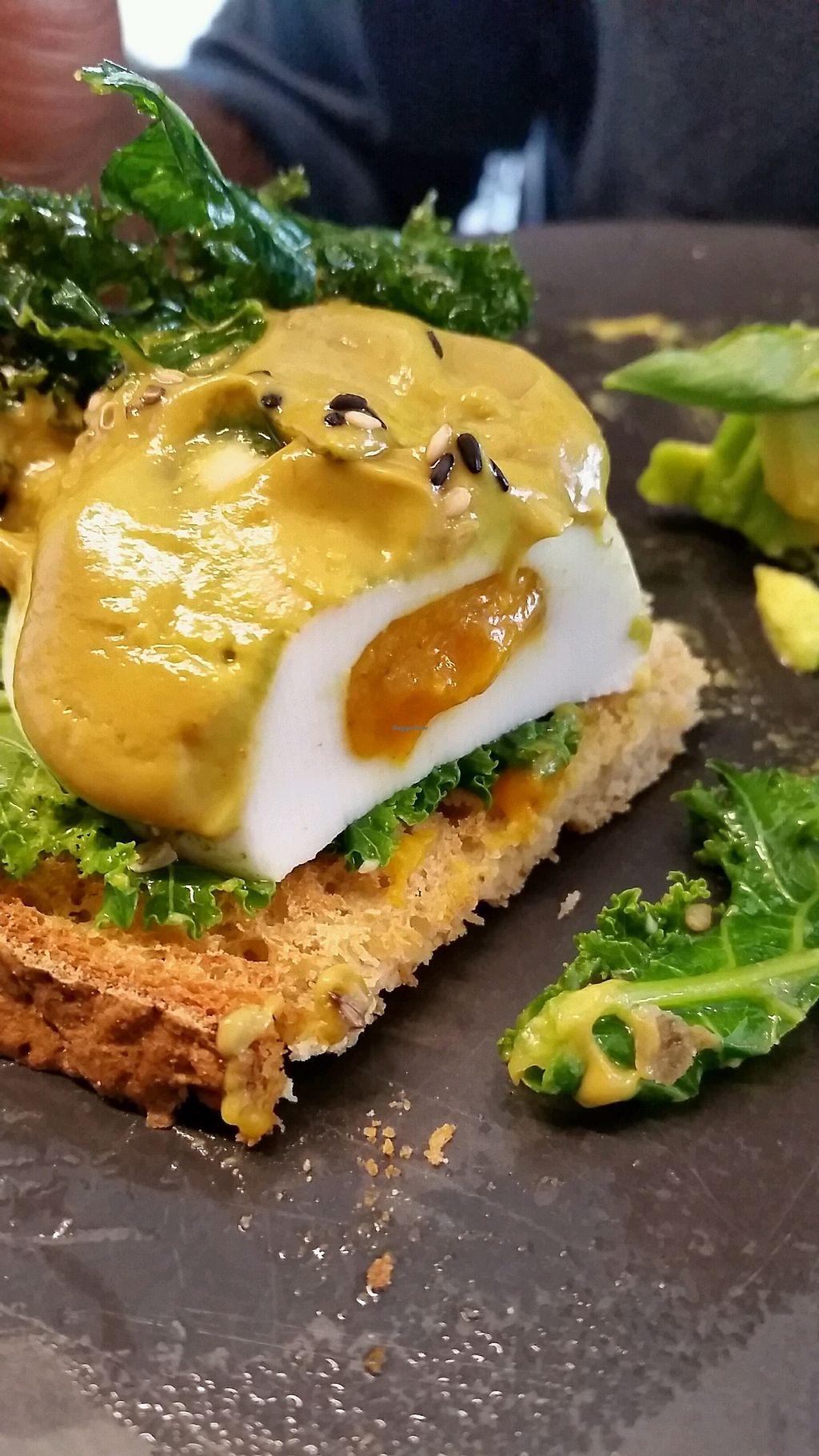 "Photo of Matcha Mylkbar  by <a href=""/members/profile/emmawestrup"">emmawestrup</a> <br/>Hollandaise (vegan) eggs <br/> February 25, 2018  - <a href='/contact/abuse/image/71552/363764'>Report</a>"