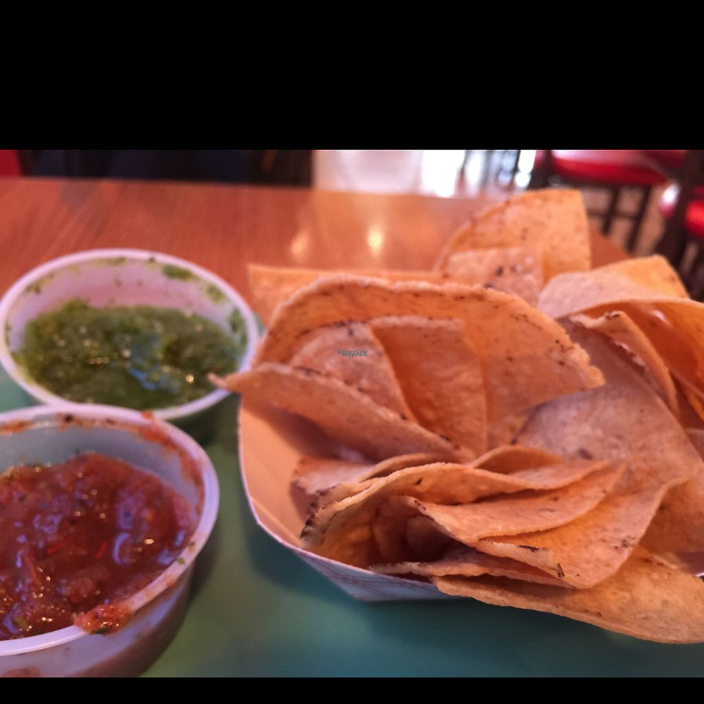"""Photo of Bumble Bees Baja Grill  by <a href=""""/members/profile/Taycw"""">Taycw</a> <br/>chips! $1 <br/> April 25, 2017  - <a href='/contact/abuse/image/71556/252150'>Report</a>"""
