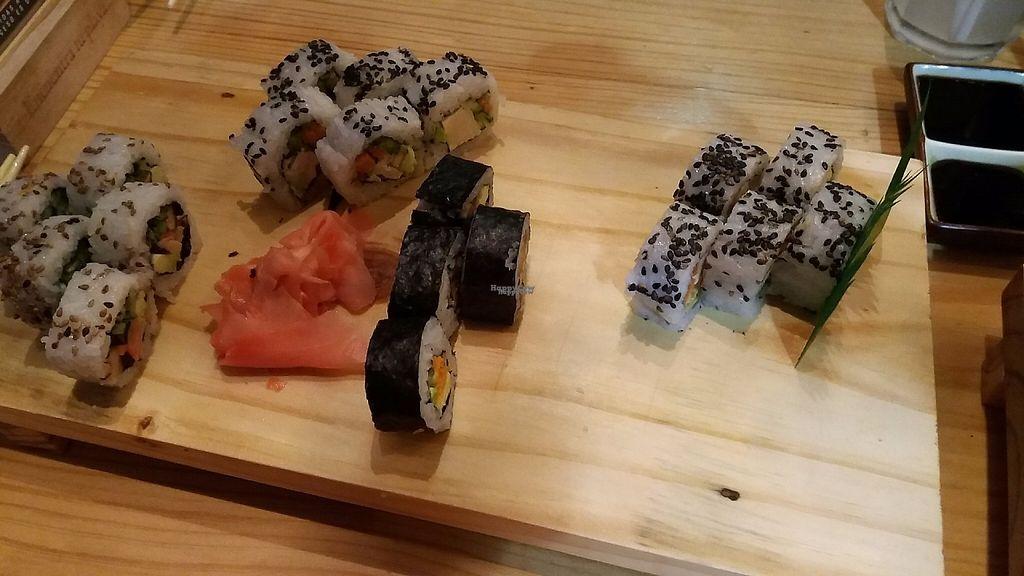 "Photo of Aida Bar Sushi Bar  by <a href=""/members/profile/Arta"">Arta</a> <br/>Vegan sushi options at Aida <br/> March 18, 2017  - <a href='/contact/abuse/image/71557/237698'>Report</a>"