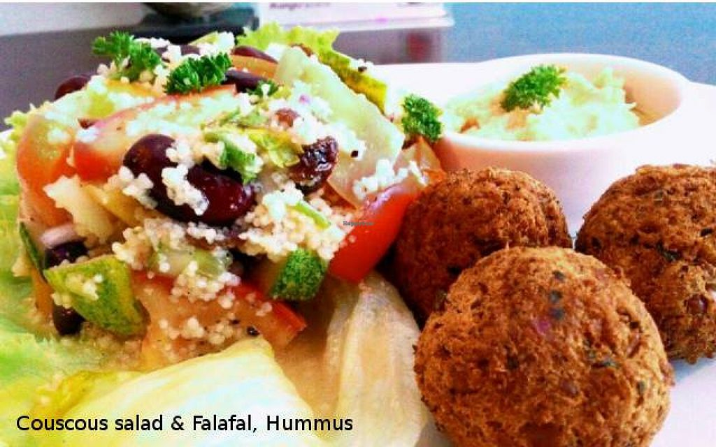 Photo of CLOSED: Lamai Salad  by Lamaisalad <br/>Couscous salad ,Falafel & Hummus <br/> March 31, 2016  - <a href='/contact/abuse/image/71578/142015'>Report</a>