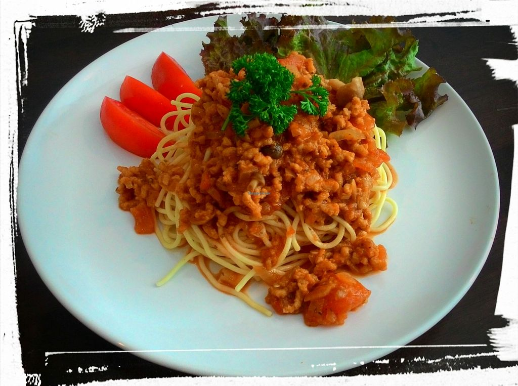 Photo of CLOSED: Lamai Salad  by Lamaisalad <br/>Amazing Spaghetti Bolognese 100% Vegan <br/> April 7, 2016  - <a href='/contact/abuse/image/71578/143291'>Report</a>