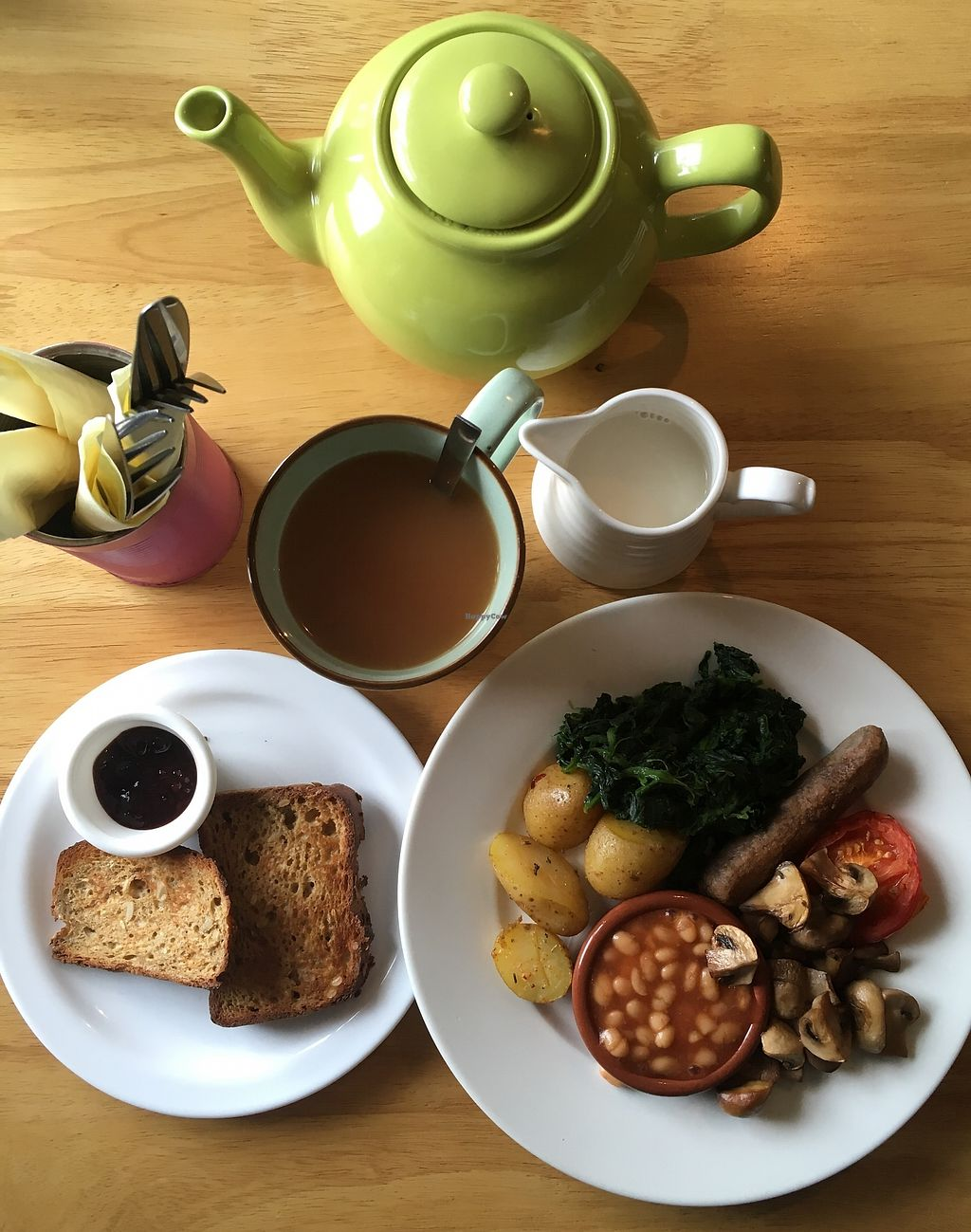 """Photo of Doolin Cafe  by <a href=""""/members/profile/phashonkat"""">phashonkat</a> <br/>Traditional Irish Breakfast vegan style! <br/> July 24, 2017  - <a href='/contact/abuse/image/71584/284083'>Report</a>"""