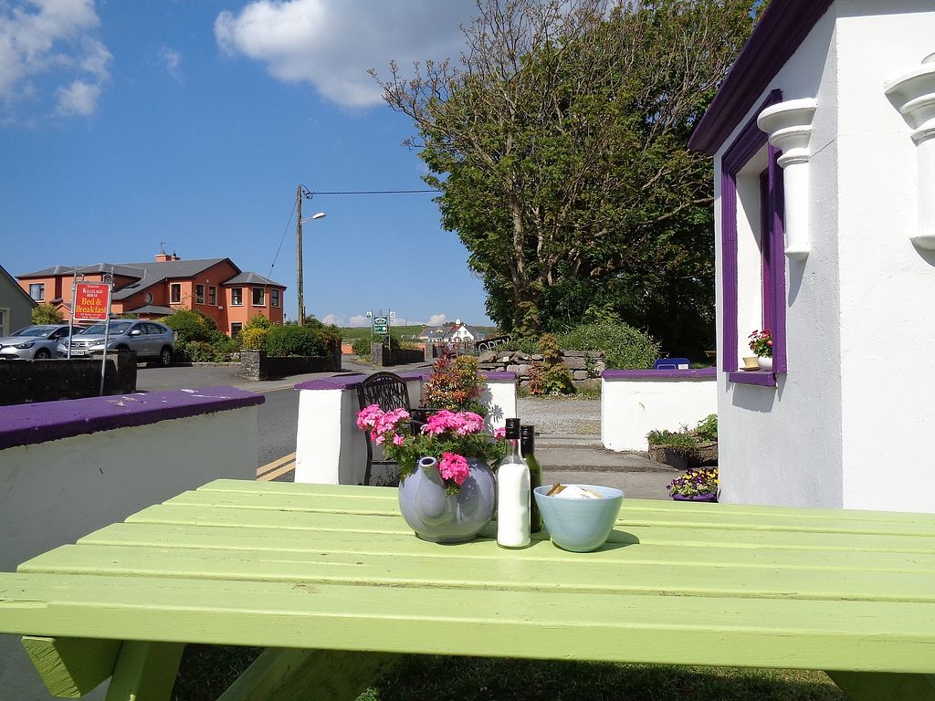 """Photo of Doolin Cafe  by <a href=""""/members/profile/FlorMayana"""">FlorMayana</a> <br/>lovely outdoor seats <br/> March 30, 2018  - <a href='/contact/abuse/image/71584/378417'>Report</a>"""