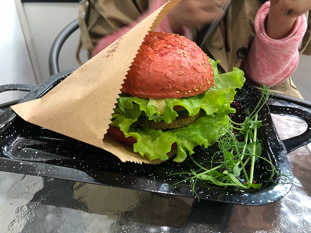 """Photo of Vegano Hooligano  by <a href=""""/members/profile/LemonMarty"""">LemonMarty</a> <br/>Burger <br/> April 9, 2018  - <a href='/contact/abuse/image/71611/383071'>Report</a>"""