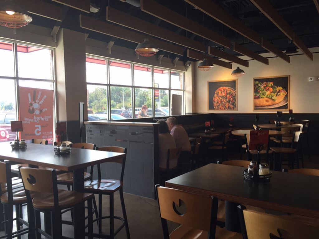 """Photo of Pie Five Pizza  by <a href=""""/members/profile/Shanaynay85"""">Shanaynay85</a> <br/>booths tables or bar stools! sit where you want <br/> July 28, 2016  - <a href='/contact/abuse/image/71616/162865'>Report</a>"""