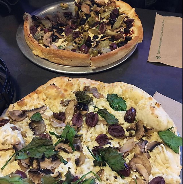 """Photo of Pie Five Pizza  by <a href=""""/members/profile/Scholemillers"""">Scholemillers</a> <br/>pretty good! <br/> June 17, 2017  - <a href='/contact/abuse/image/71616/270042'>Report</a>"""