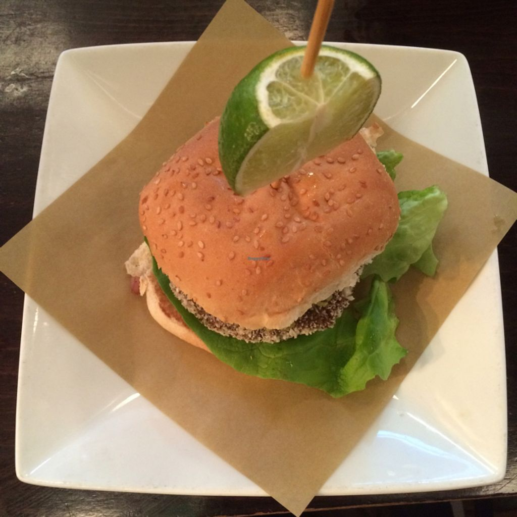"""Photo of Handmade Burger Co.  by <a href=""""/members/profile/LittleAliceFell"""">LittleAliceFell</a> <br/>Tex-Mex Burger <br/> July 27, 2016  - <a href='/contact/abuse/image/71627/162791'>Report</a>"""