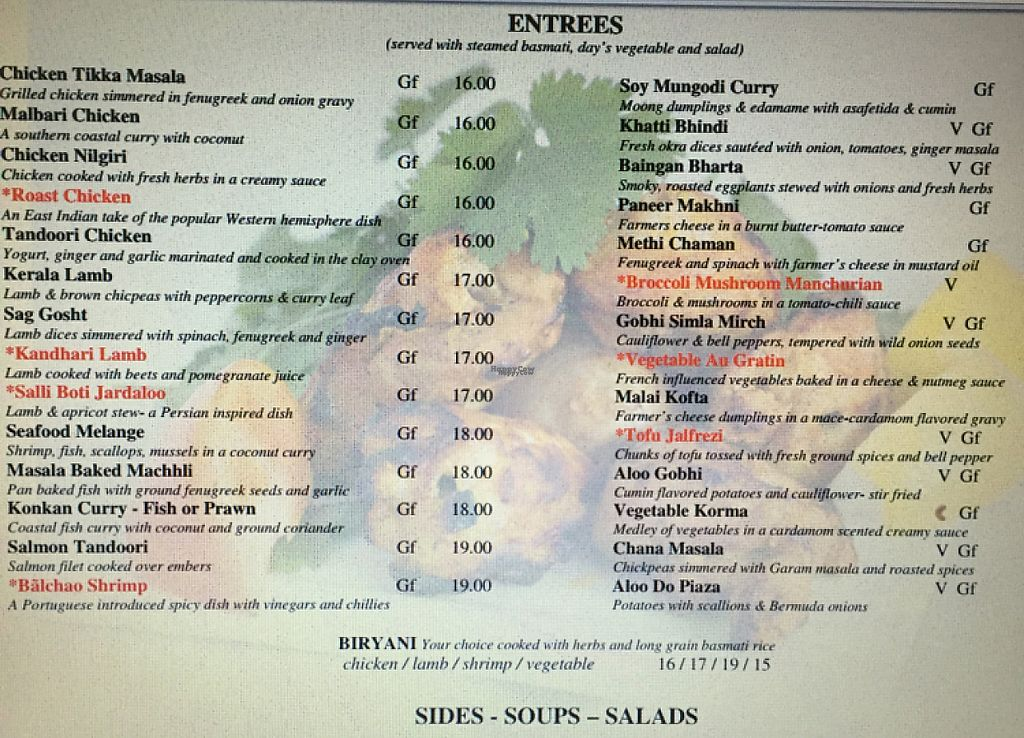 """Photo of Spice Xing  by <a href=""""/members/profile/melabrams"""">melabrams</a> <br/>menu <br/> November 4, 2016  - <a href='/contact/abuse/image/71636/202057'>Report</a>"""