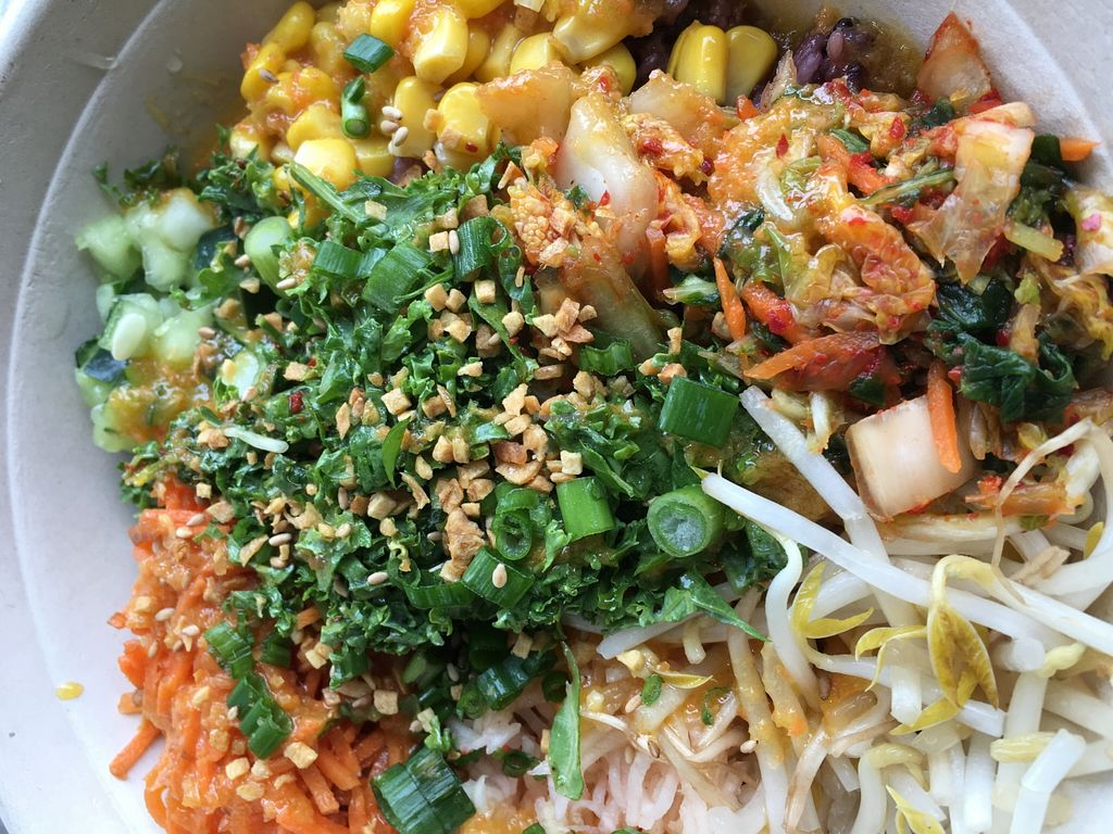 "Photo of SeoulSpice  by <a href=""/members/profile/cookiem"">cookiem</a> <br/>Herbivore vegan bibimbap with purple rice <br/> March 31, 2016  - <a href='/contact/abuse/image/71641/142098'>Report</a>"
