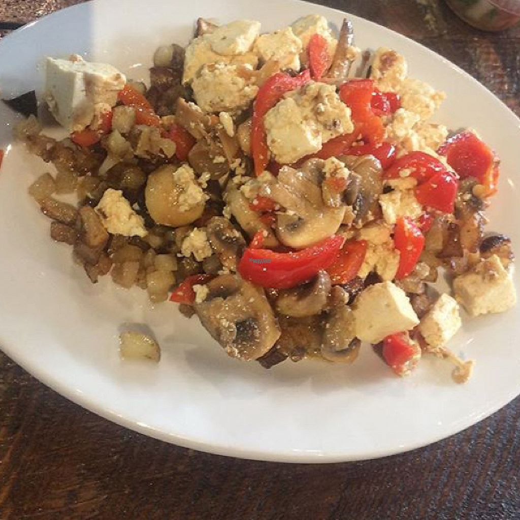 "Photo of Tree of Life Cafe & Bakery  by <a href=""/members/profile/glassesgirl79"">glassesgirl79</a> <br/>Tofu scramble with mushrooms & red peppers  <br/> February 16, 2017  - <a href='/contact/abuse/image/71665/227158'>Report</a>"
