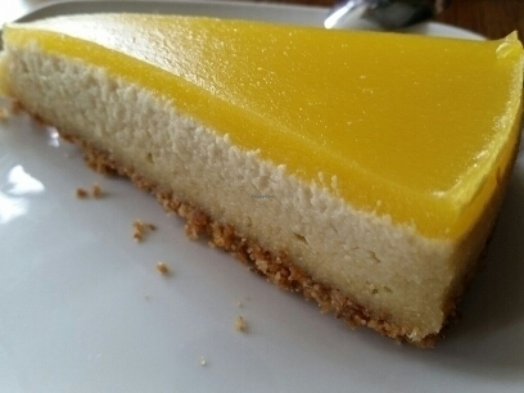 """Photo of CLOSED: Campbell's Canal Cafe  by <a href=""""/members/profile/eric"""">eric</a> <br/>lemon cheesecake <br/> July 21, 2016  - <a href='/contact/abuse/image/71668/161395'>Report</a>"""