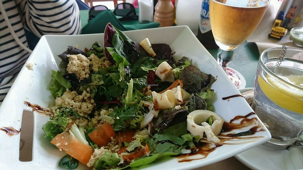 "Photo of Fuori di Zucca  by <a href=""/members/profile/jayjay82"">jayjay82</a> <br/>Great Salad with Tofu and palmhearts <br/> February 8, 2018  - <a href='/contact/abuse/image/71702/356409'>Report</a>"