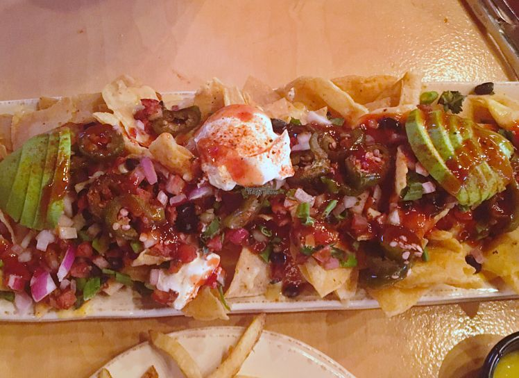 """Photo of Hops and Fire  by <a href=""""/members/profile/Amy00Good"""">Amy00Good</a> <br/>Southwest Vegan Nachos <br/> October 29, 2016  - <a href='/contact/abuse/image/71720/185056'>Report</a>"""