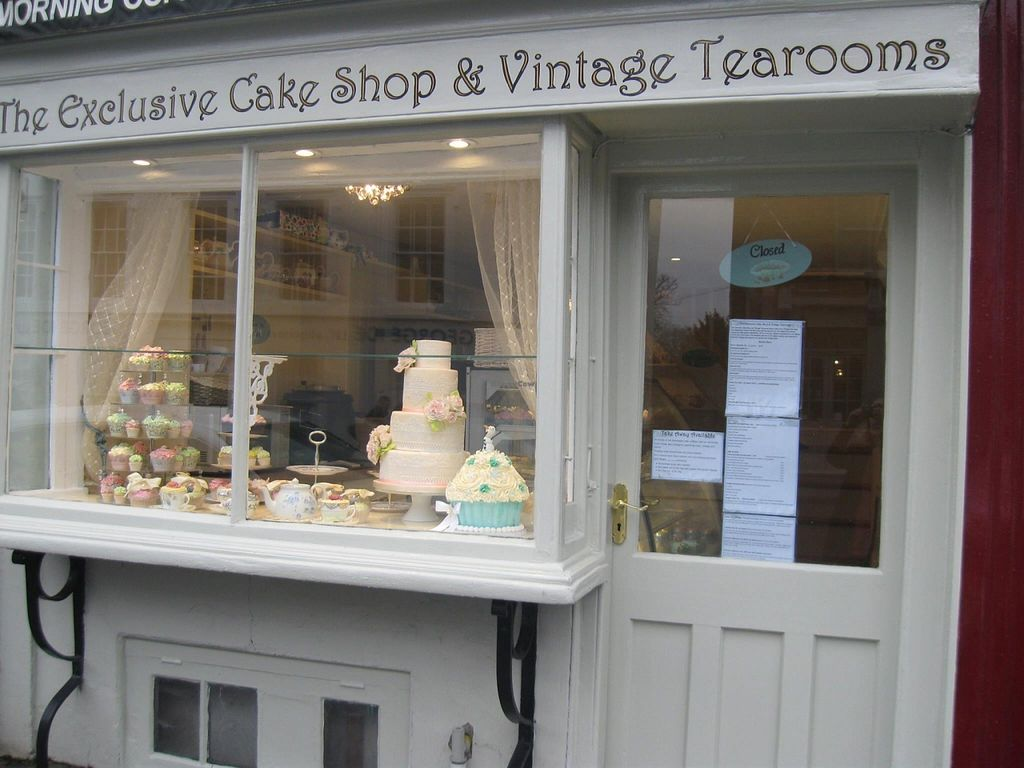 """Photo of The Exclusive Cake Shop & Vintage Tearoom   by <a href=""""/members/profile/carolecupcakes"""">carolecupcakes</a> <br/>Don't miss us...at the top end of North street Chichester...nearest car par is the festival theatre <br/> April 2, 2016  - <a href='/contact/abuse/image/71733/142432'>Report</a>"""