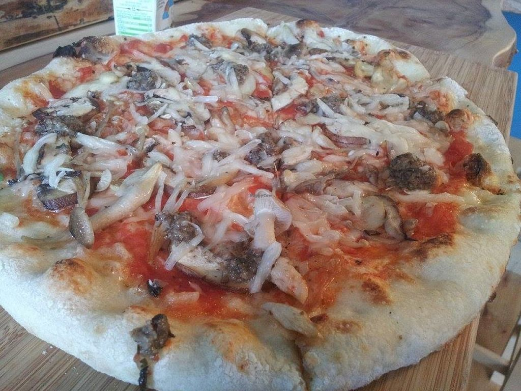 "Photo of The Porter Pizza Company  by <a href=""/members/profile/Meaks"">Meaks</a> <br/>Vegan Pizza <br/> July 29, 2016  - <a href='/contact/abuse/image/71734/163145'>Report</a>"