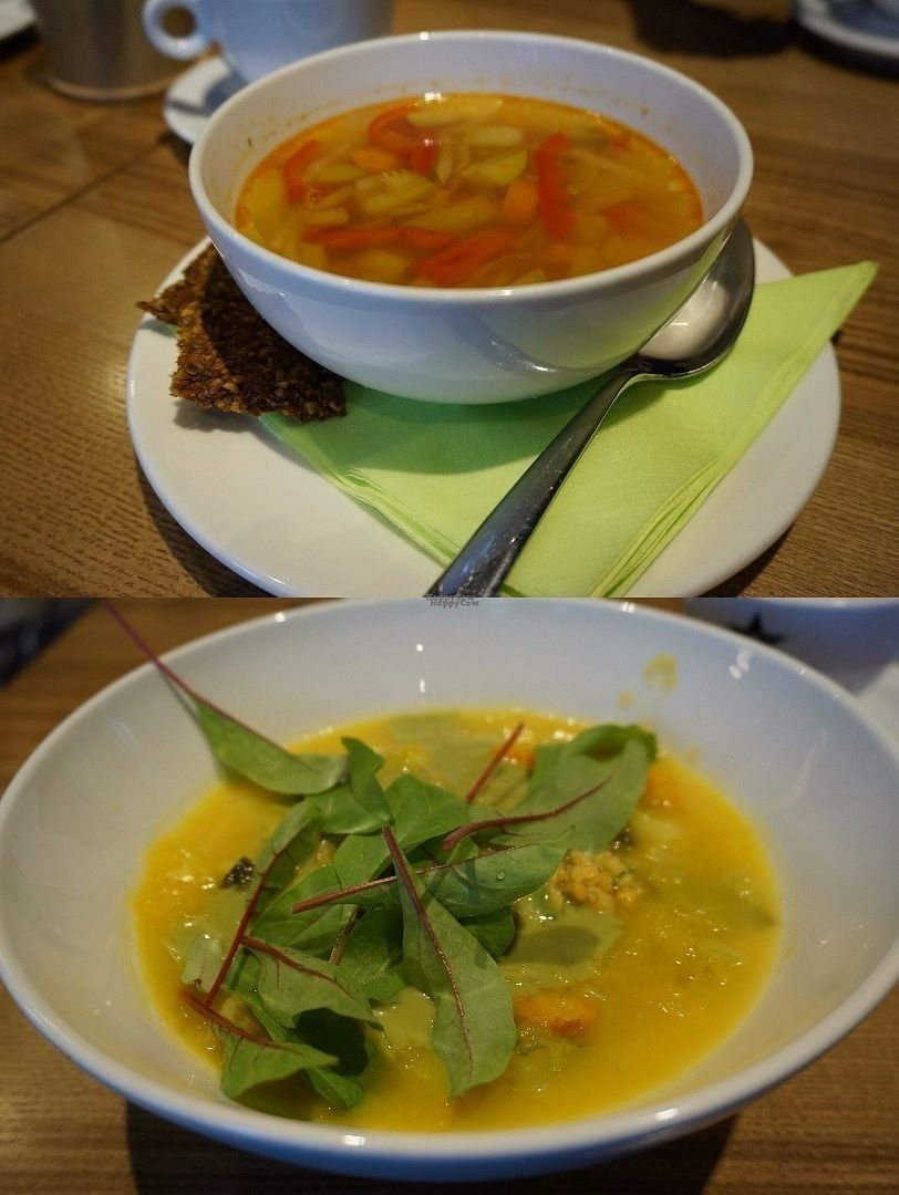 "Photo of The Beginnings - Kr.Barona Iela  by <a href=""/members/profile/Ricardo"">Ricardo</a> <br/>Today's Lunch Set (vegan)