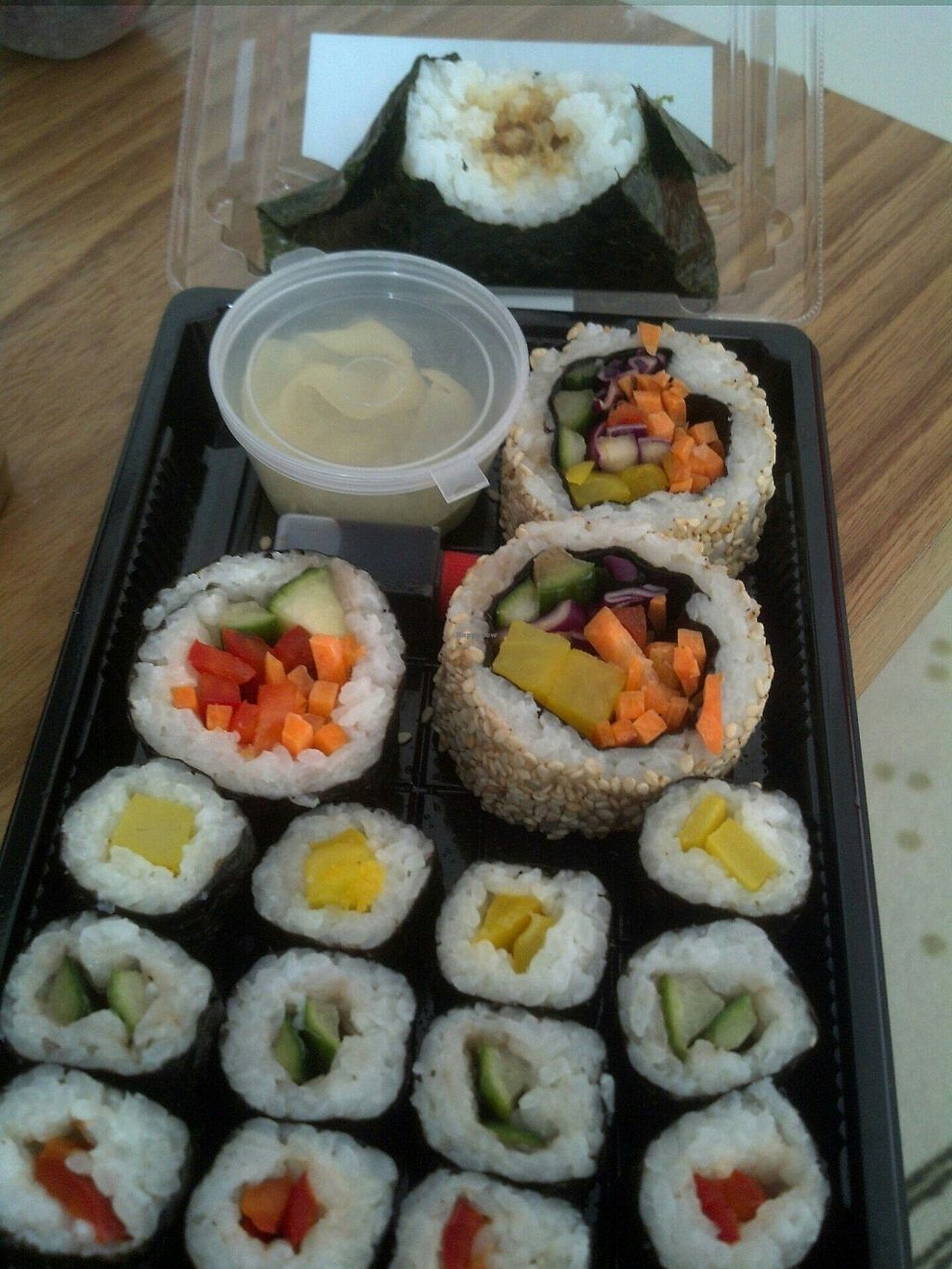 """Photo of Alnatura - Alte Jakobstr  by <a href=""""/members/profile/dicer"""">dicer</a> <br/>Vegan, organic sushi <br/> August 8, 2017  - <a href='/contact/abuse/image/71743/290408'>Report</a>"""