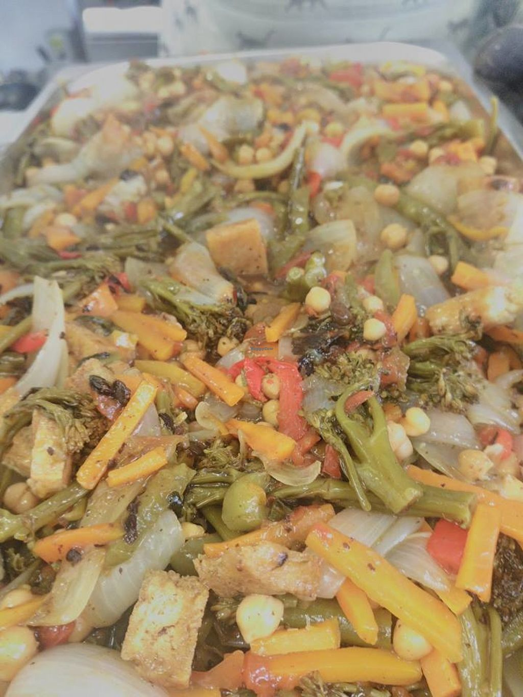 """Photo of The Real Junk Food Project  by <a href=""""/members/profile/Meaks"""">Meaks</a> <br/>Tofu & Veg in a Black Bean Sauce <br/> July 29, 2016  - <a href='/contact/abuse/image/71750/163166'>Report</a>"""