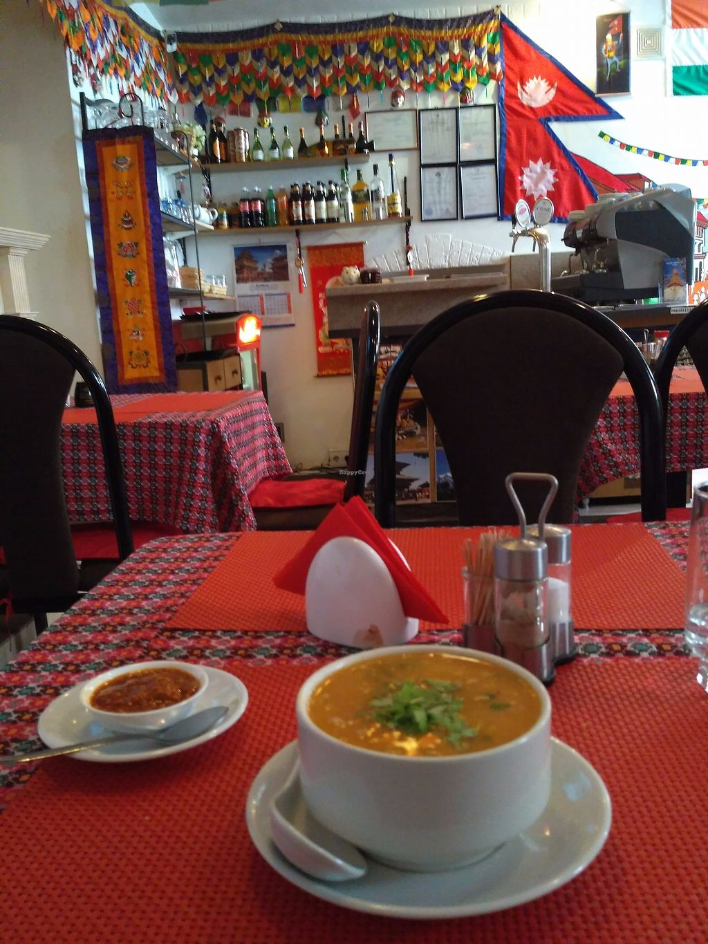 """Photo of Himalaju Azijas Virtuve - Blaumaņa  by <a href=""""/members/profile/AsafAvner"""">AsafAvner</a> <br/>Great atmosphere, lots of vegan options and very nice staff! <br/> June 21, 2017  - <a href='/contact/abuse/image/71751/271822'>Report</a>"""