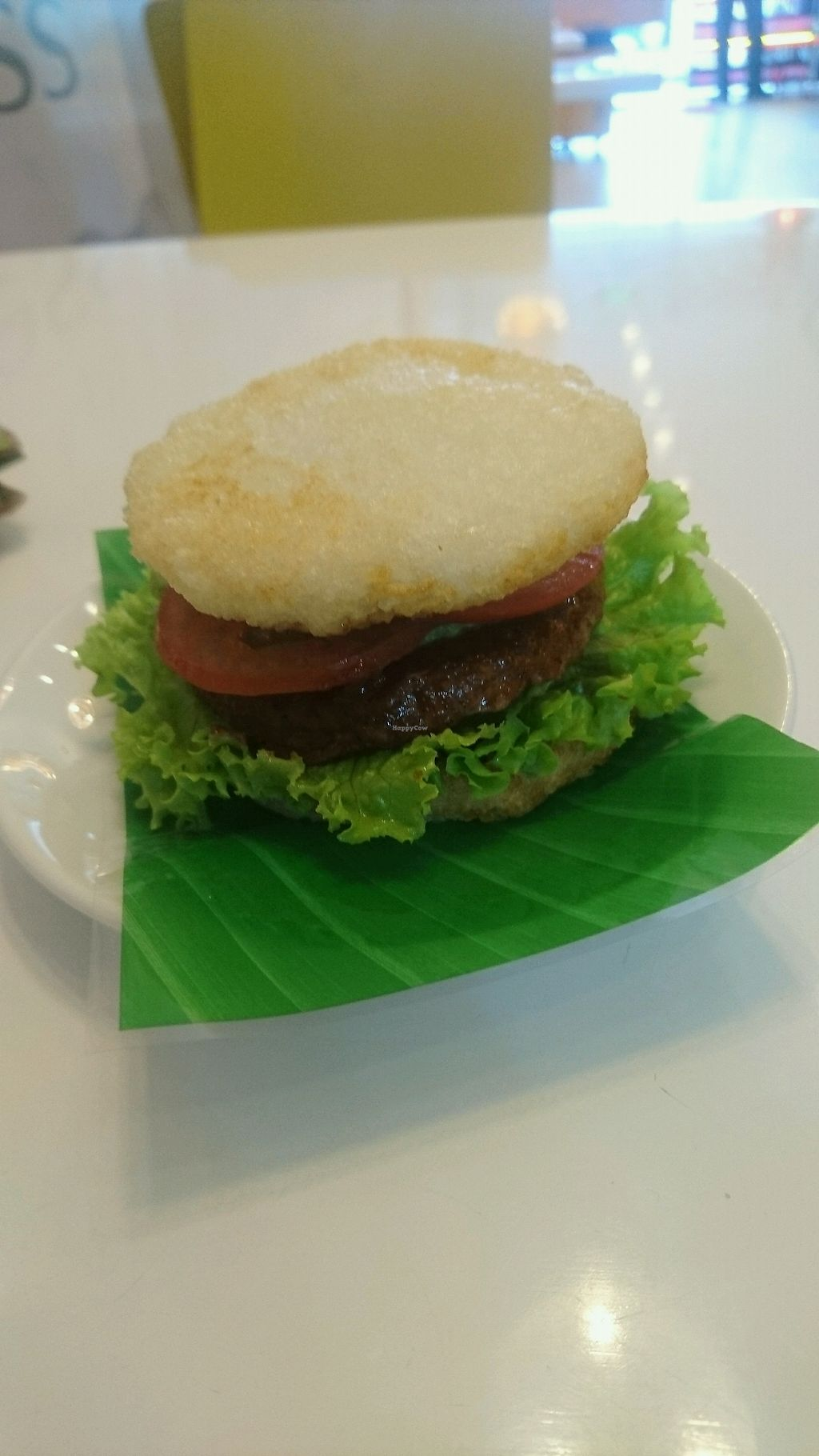 """Photo of Healthy Farm - Tran Hung Dao District 1  by <a href=""""/members/profile/jesse558"""">jesse558</a> <br/>rice burger <br/> November 6, 2017  - <a href='/contact/abuse/image/71752/322584'>Report</a>"""