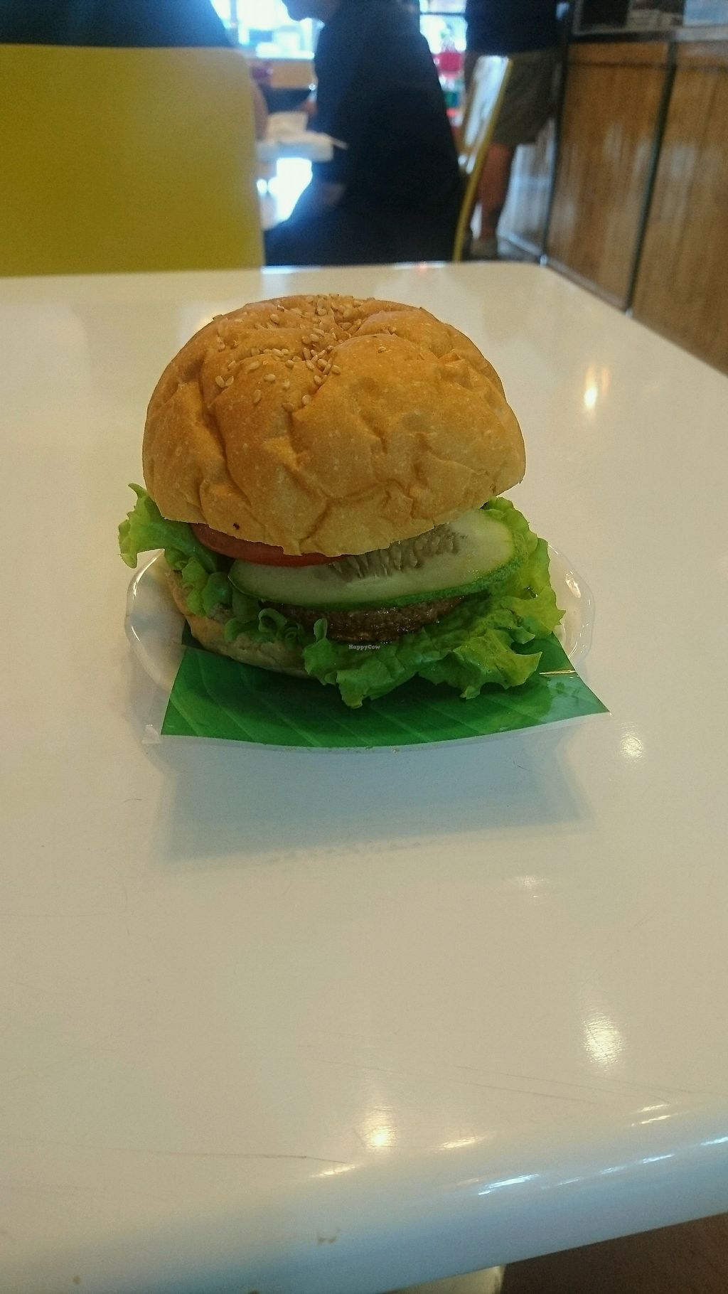 """Photo of Healthy Farm - Tran Hung Dao District 1  by <a href=""""/members/profile/jesse558"""">jesse558</a> <br/>vegan burger <br/> November 6, 2017  - <a href='/contact/abuse/image/71752/322587'>Report</a>"""