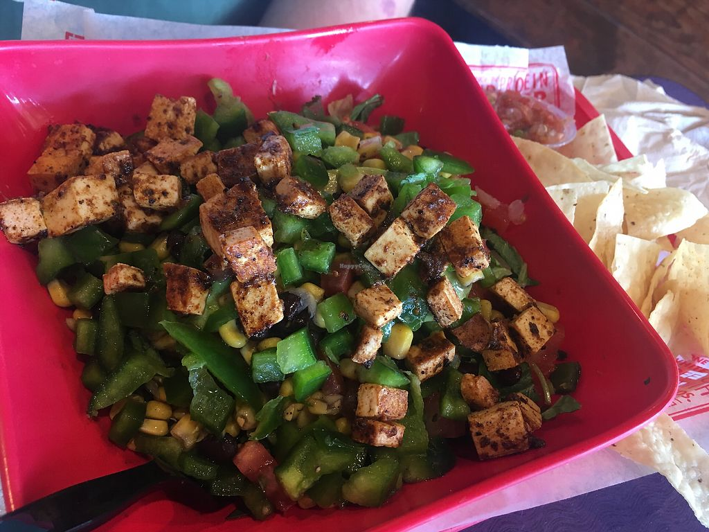 "Photo of Barberitos  by <a href=""/members/profile/betsylarder"">betsylarder</a> <br/>Tofu and green pepper burrito bowl <br/> March 23, 2018  - <a href='/contact/abuse/image/71767/374948'>Report</a>"