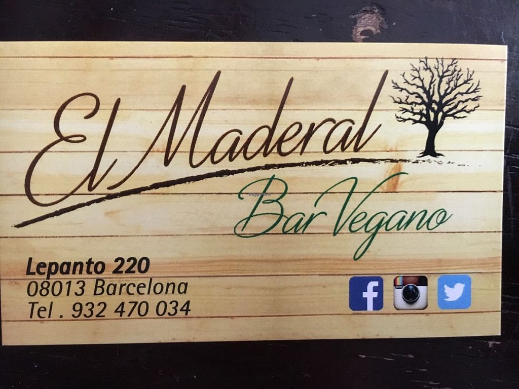 "Photo of CLOSED: El Maderal  by <a href=""/members/profile/hack_man"">hack_man</a> <br/>Business card  <br/> June 29, 2016  - <a href='/contact/abuse/image/71776/156869'>Report</a>"