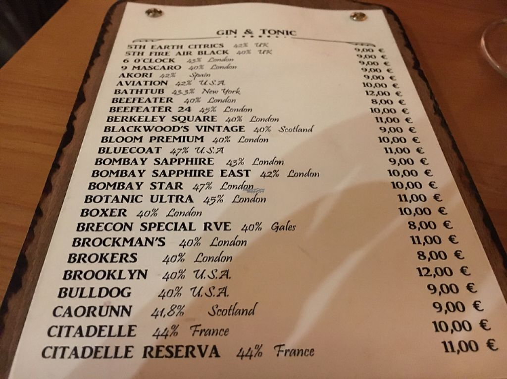 "Photo of CLOSED: El Maderal  by <a href=""/members/profile/hack_man"">hack_man</a> <br/>The gin menu  <br/> November 19, 2016  - <a href='/contact/abuse/image/71776/191876'>Report</a>"