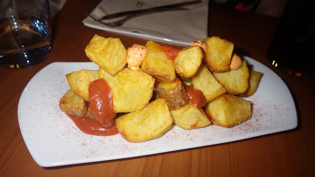 "Photo of CLOSED: El Maderal  by <a href=""/members/profile/deadpledge"">deadpledge</a> <br/>Patatas bravas <br/> March 8, 2017  - <a href='/contact/abuse/image/71776/234290'>Report</a>"