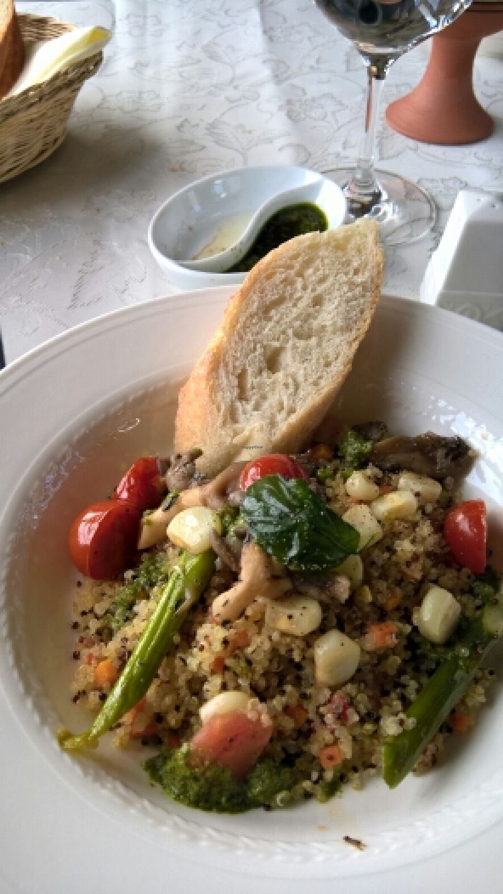 """Photo of Peru Rail  by <a href=""""/members/profile/VinceVandemolegraaf"""">VinceVandemolegraaf</a> <br/>Peruvian Quinoa vegan salad <br/> July 9, 2016  - <a href='/contact/abuse/image/71826/158586'>Report</a>"""