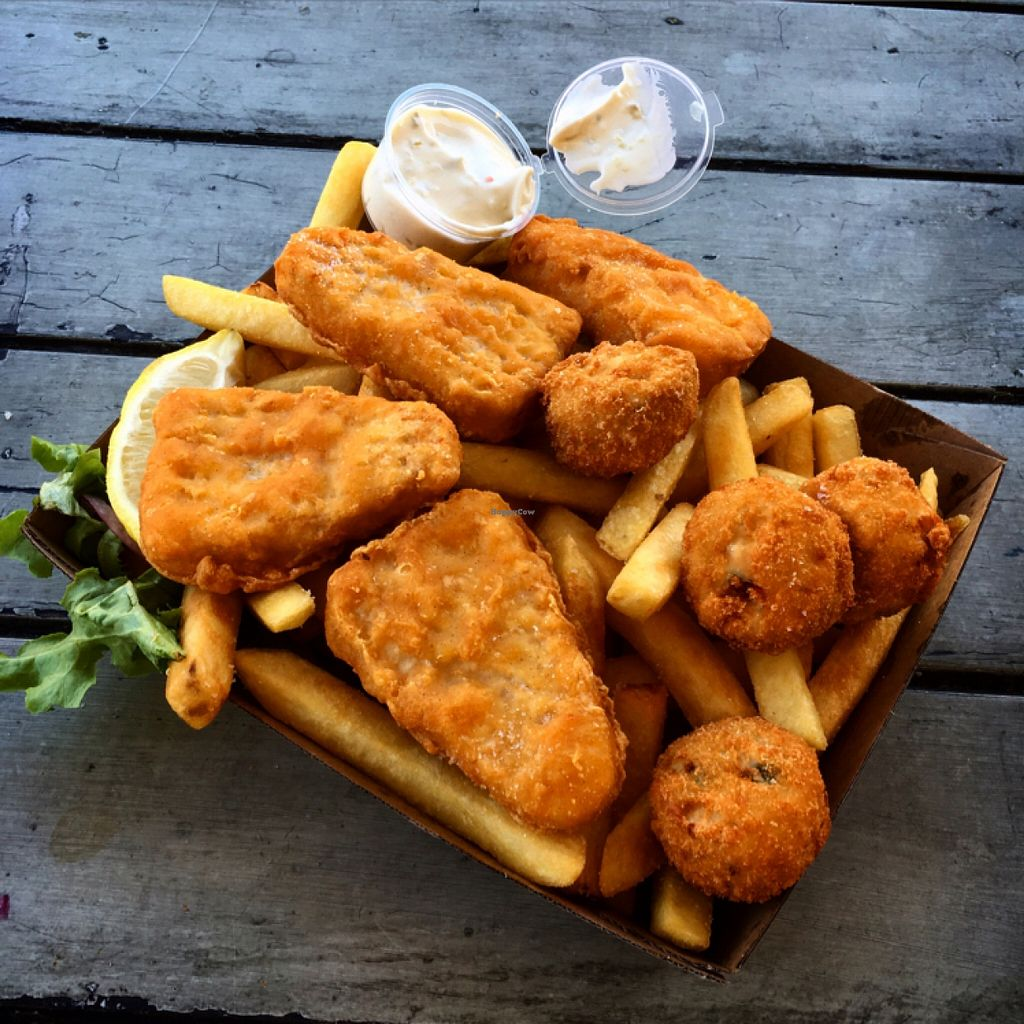"Photo of CLOSED: Swampdog Fish and Chips  by <a href=""/members/profile/SeitanSeitanSeitan"">SeitanSeitanSeitan</a> <br/>Fisherman's basket <br/> April 3, 2016  - <a href='/contact/abuse/image/71827/142611'>Report</a>"