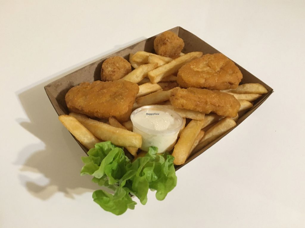 "Photo of CLOSED: Swampdog Fish and Chips  by <a href=""/members/profile/Yolanda"">Yolanda</a> <br/>vegan fish basket <br/> June 4, 2016  - <a href='/contact/abuse/image/71827/152251'>Report</a>"
