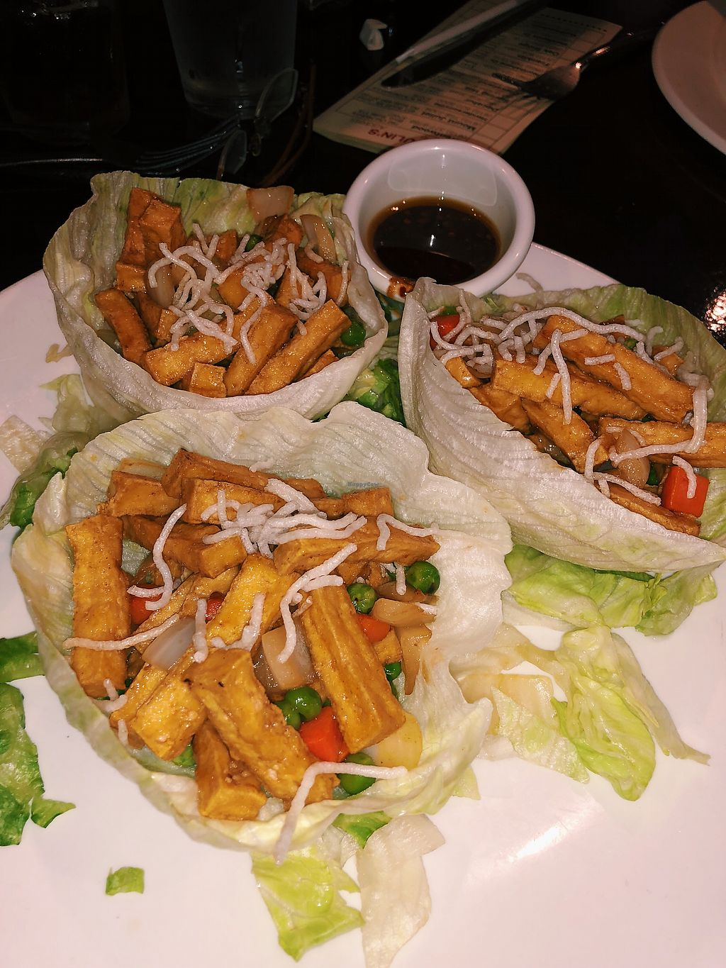 """Photo of Fulin's Asian Cuisine  by <a href=""""/members/profile/AbigailAnnaFoster"""">AbigailAnnaFoster</a> <br/>Bean Curd Lettuce wraps <br/> April 14, 2018  - <a href='/contact/abuse/image/71848/385885'>Report</a>"""