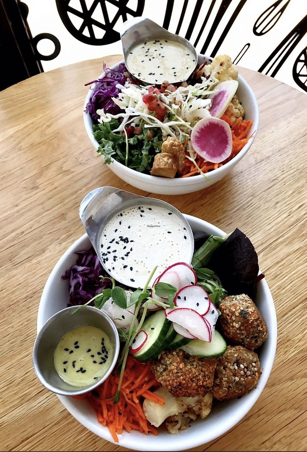 """Photo of Kupfert & Kim - Spadina  by <a href=""""/members/profile/Dimanta"""">Dimanta</a> <br/>Falafel Salad <br/> March 5, 2018  - <a href='/contact/abuse/image/71858/366942'>Report</a>"""