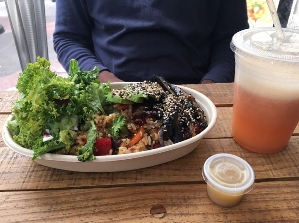 """Photo of CLOSED: Vegan Planet - Mexico City  by <a href=""""/members/profile/Sooz"""">Sooz</a> <br/>Delicious <br/> August 6, 2016  - <a href='/contact/abuse/image/71863/166395'>Report</a>"""