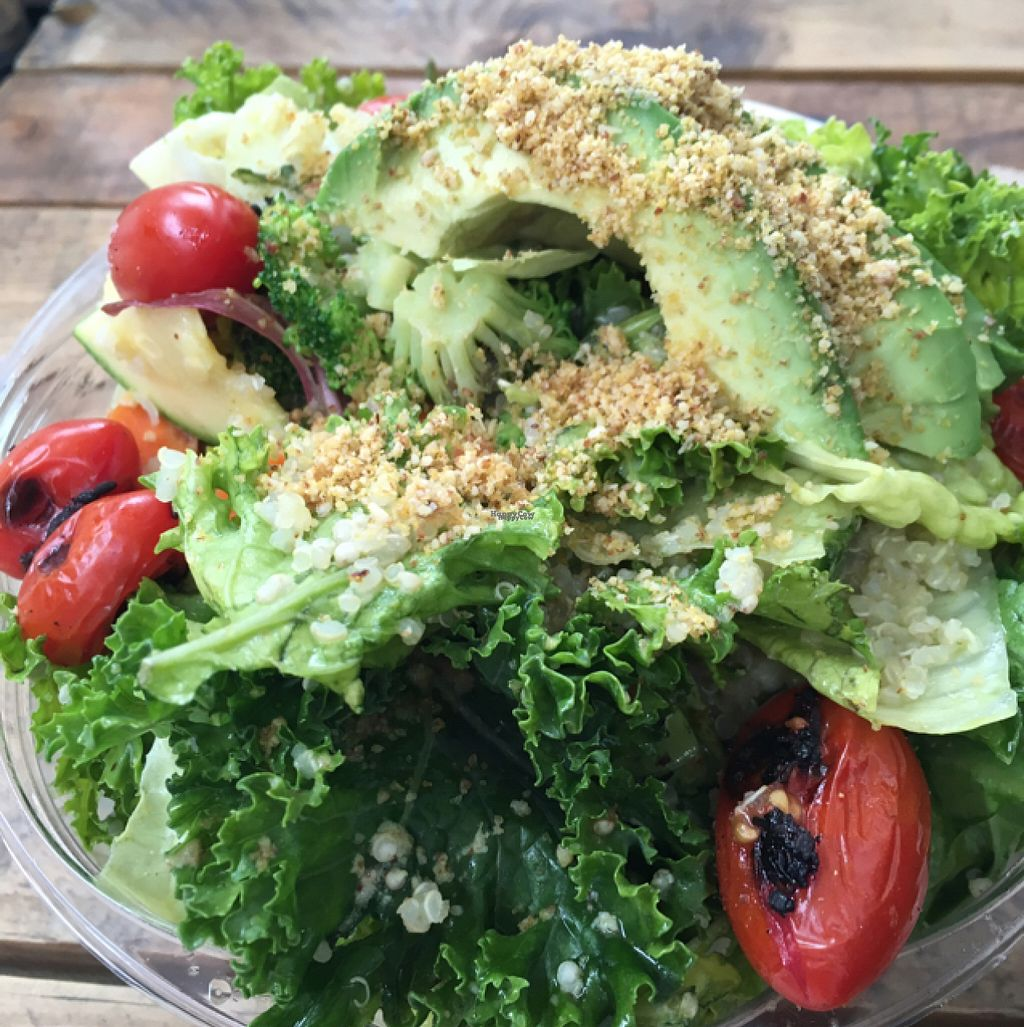 """Photo of CLOSED: Vegan Planet - Mexico City  by <a href=""""/members/profile/Sooz"""">Sooz</a> <br/>Quinoa salad bowl - yummy <br/> August 6, 2016  - <a href='/contact/abuse/image/71863/166396'>Report</a>"""
