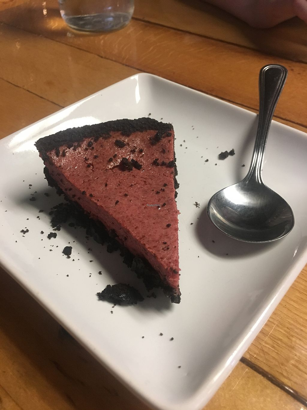 "Photo of Paisley Vegan Kitchen  by <a href=""/members/profile/CarrieAPash"">CarrieAPash</a> <br/>Red Velvet cheesecake  <br/> July 23, 2017  - <a href='/contact/abuse/image/71867/283780'>Report</a>"