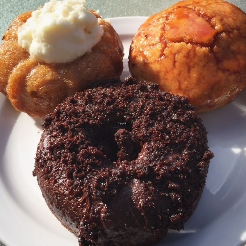 """Photo of Plant Matter Kitchen  by <a href=""""/members/profile/DylanDakota"""">DylanDakota</a> <br/>Weekend doughnuts are different each week, and always so good! <br/> November 6, 2016  - <a href='/contact/abuse/image/71889/186790'>Report</a>"""