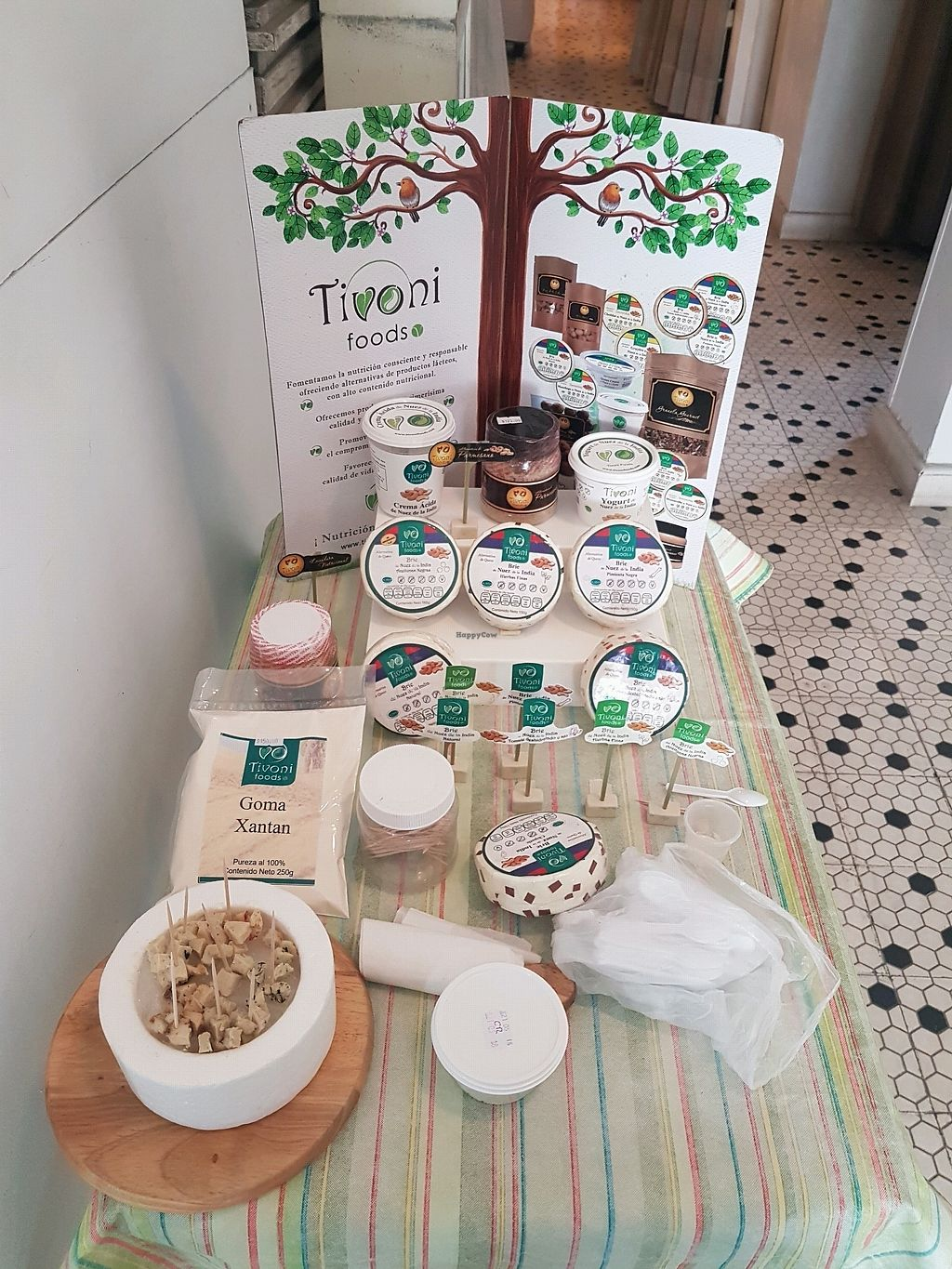 "Photo of Tivoni Foods  by <a href=""/members/profile/Mellow2bee"">Mellow2bee</a> <br/>Tivoni pop-up tasting <br/> March 23, 2018  - <a href='/contact/abuse/image/71910/375007'>Report</a>"