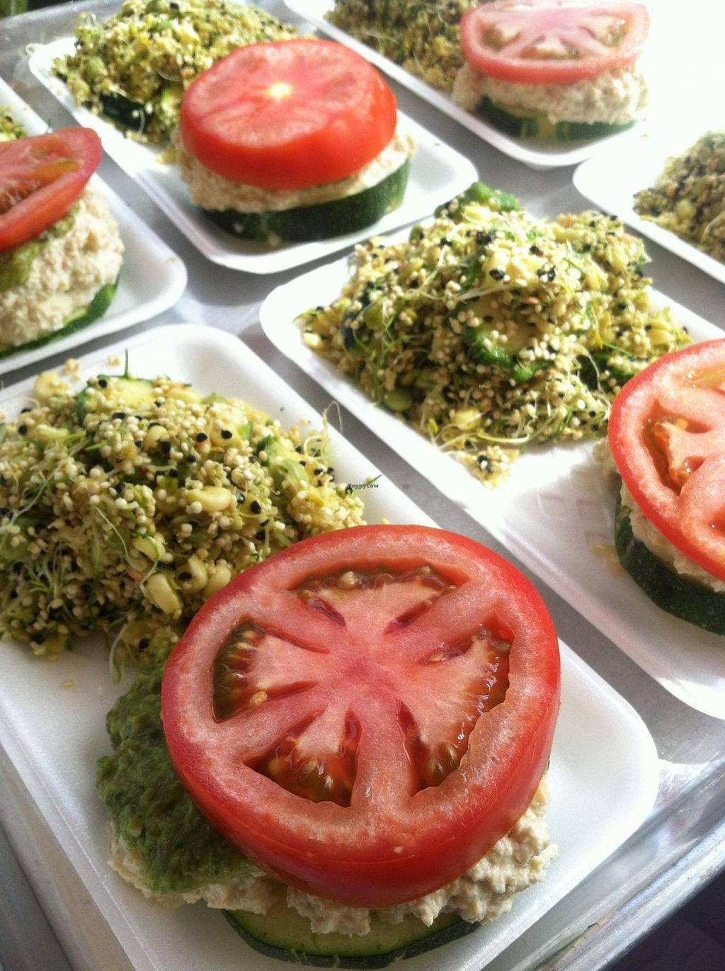 """Photo of Lotus World Foods  by <a href=""""/members/profile/community"""">community</a> <br/>Organic Raw Vegan Sliders & Organic Raw Vegan Quinoa Curry <br/> April 24, 2016  - <a href='/contact/abuse/image/71912/146052'>Report</a>"""