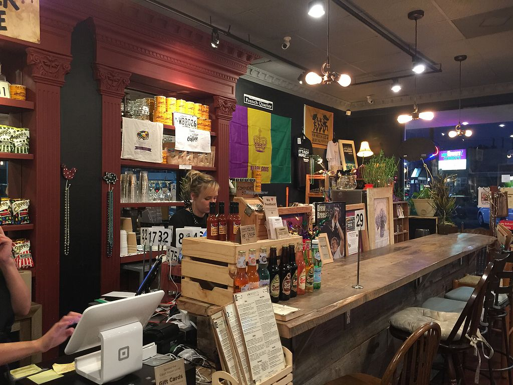 """Photo of Krimsey's Cajun Kitchen  by <a href=""""/members/profile/R12345"""">R12345</a> <br/>Interior <br/> February 3, 2018  - <a href='/contact/abuse/image/71919/354211'>Report</a>"""