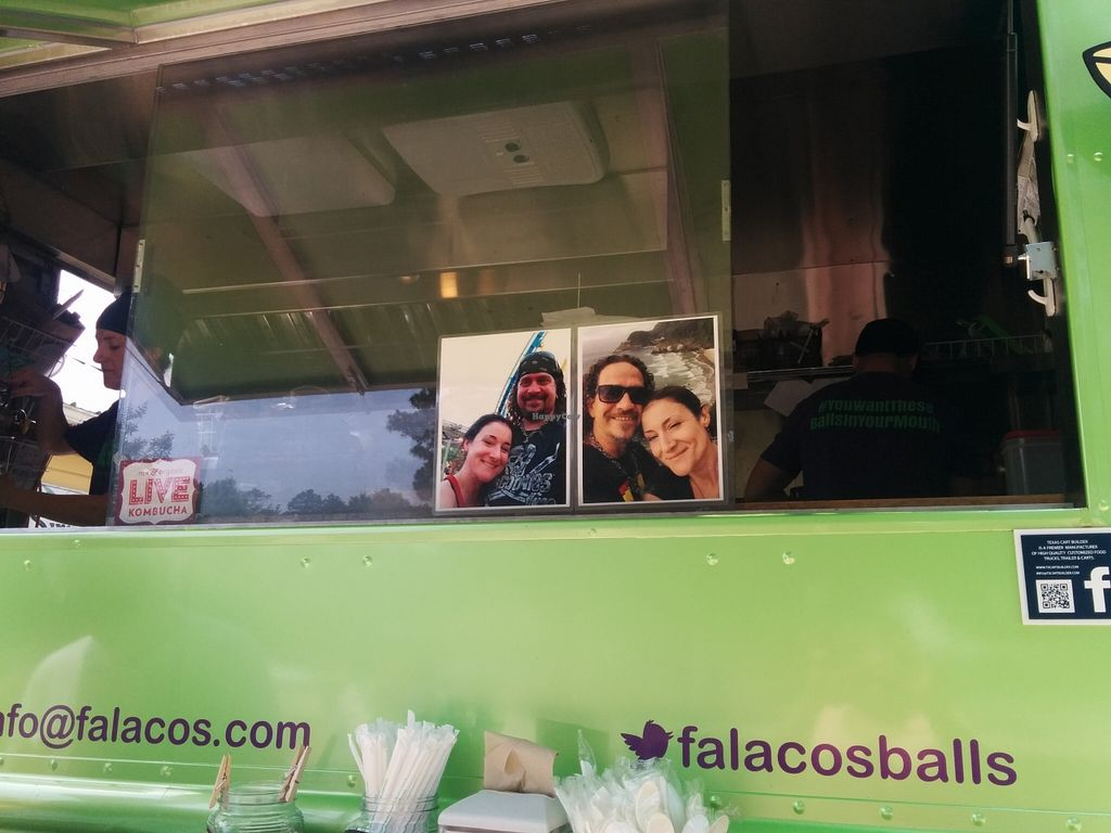 "Photo of Falacos - Food Truck  by <a href=""/members/profile/MizzB"">MizzB</a> <br/>Falacos food truck <br/> April 29, 2016  - <a href='/contact/abuse/image/71933/146756'>Report</a>"