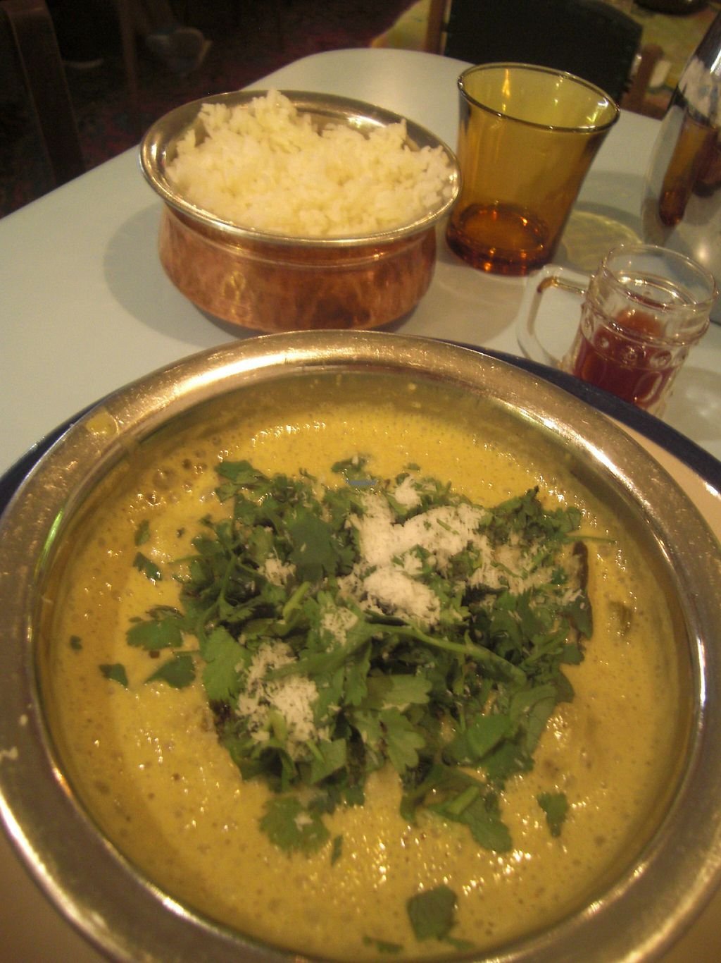 """Photo of Puaa Cafe   by <a href=""""/members/profile/Kimsera"""">Kimsera</a> <br/>Rice with a coconut curry made of butternut <br/> November 24, 2016  - <a href='/contact/abuse/image/71960/193990'>Report</a>"""