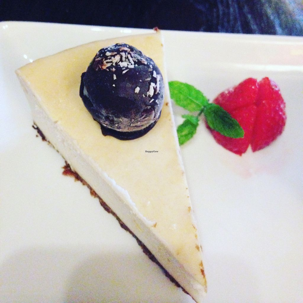 "Photo of CLOSED: The Old Bell  by <a href=""/members/profile/Cavey"">Cavey</a> <br/>vegan cheesecake with bounty ball and homemade ice cream  <br/> July 11, 2016  - <a href='/contact/abuse/image/71968/159274'>Report</a>"