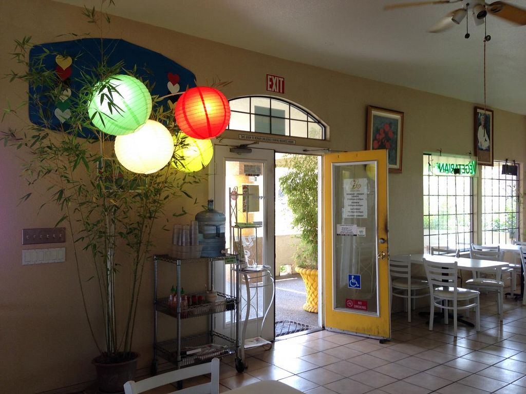 """Photo of Loving Hut - Fresno  by <a href=""""/members/profile/jennamichelle1"""">jennamichelle1</a> <br/>The front of the restaurant area.  <br/> February 18, 2014  - <a href='/contact/abuse/image/7201/64484'>Report</a>"""