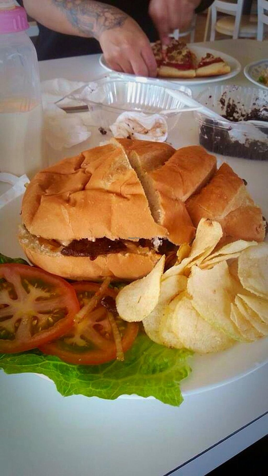 """Photo of Loving Hut - Fresno  by <a href=""""/members/profile/Flower333"""">Flower333</a> <br/>What I would say is their all star item! The PHILLY! All my meat eating friends and family are in love with this. Such great flavors and for the price it's huge! Always need to cut it in half and save for later <br/> January 27, 2015  - <a href='/contact/abuse/image/7201/91487'>Report</a>"""