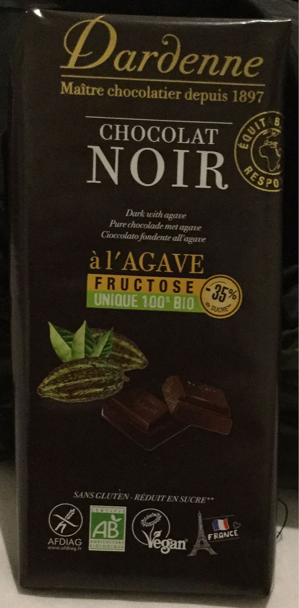 """Photo of La Vie Claire  by <a href=""""/members/profile/Mike%20Munsie"""">Mike Munsie</a> <br/>French vegan chocolate  <br/> September 10, 2017  - <a href='/contact/abuse/image/72038/302825'>Report</a>"""